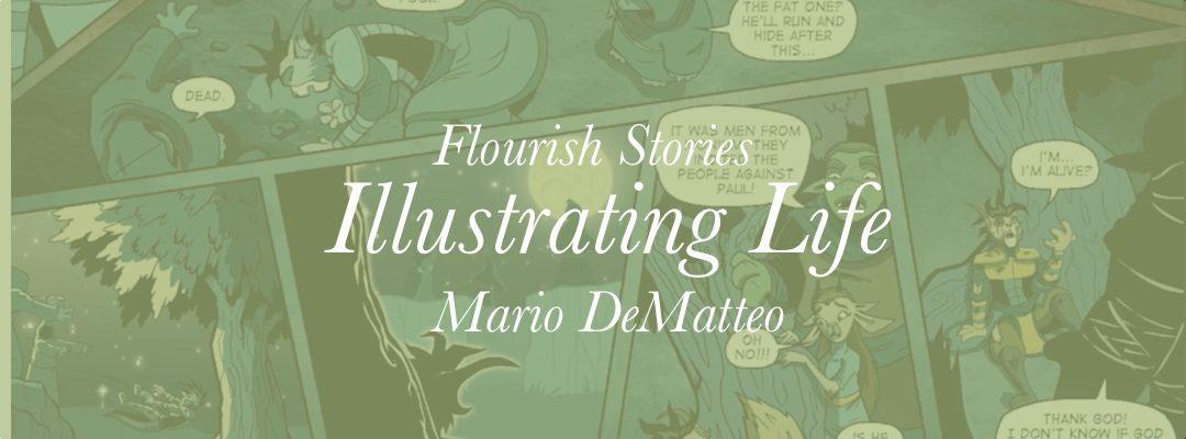 Video: Mario DeMatteo – Illustrating Life