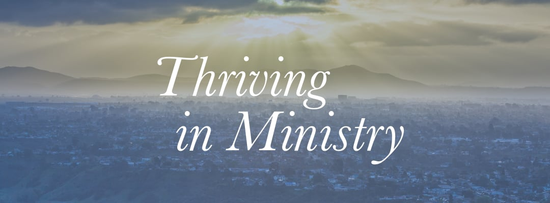 Thriving in Ministry – Grant