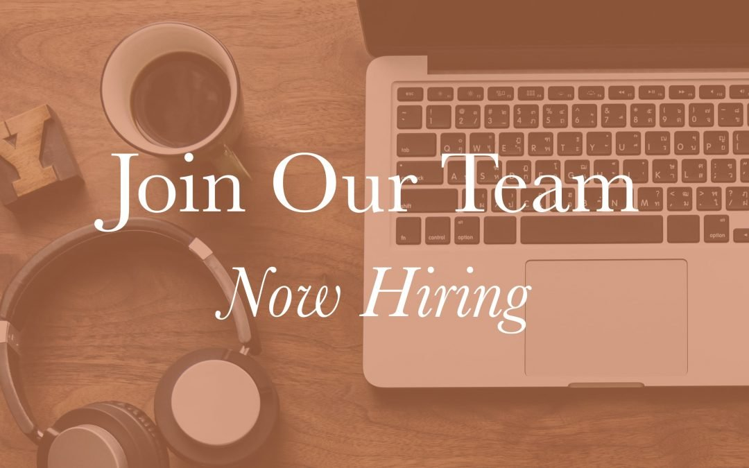 Now Hiring: Assistant Program Manager