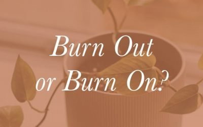 Ministry of Thriving: Burn Out or Burn On?