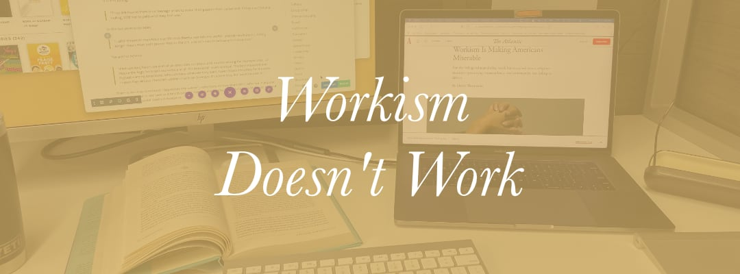 Workism Doesn't Work